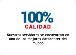 100% Calidad en planes Hosting Colombia